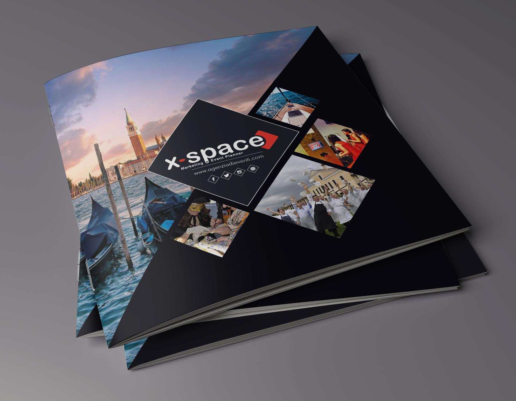 Brochure X-Space – 210 x 210 mm