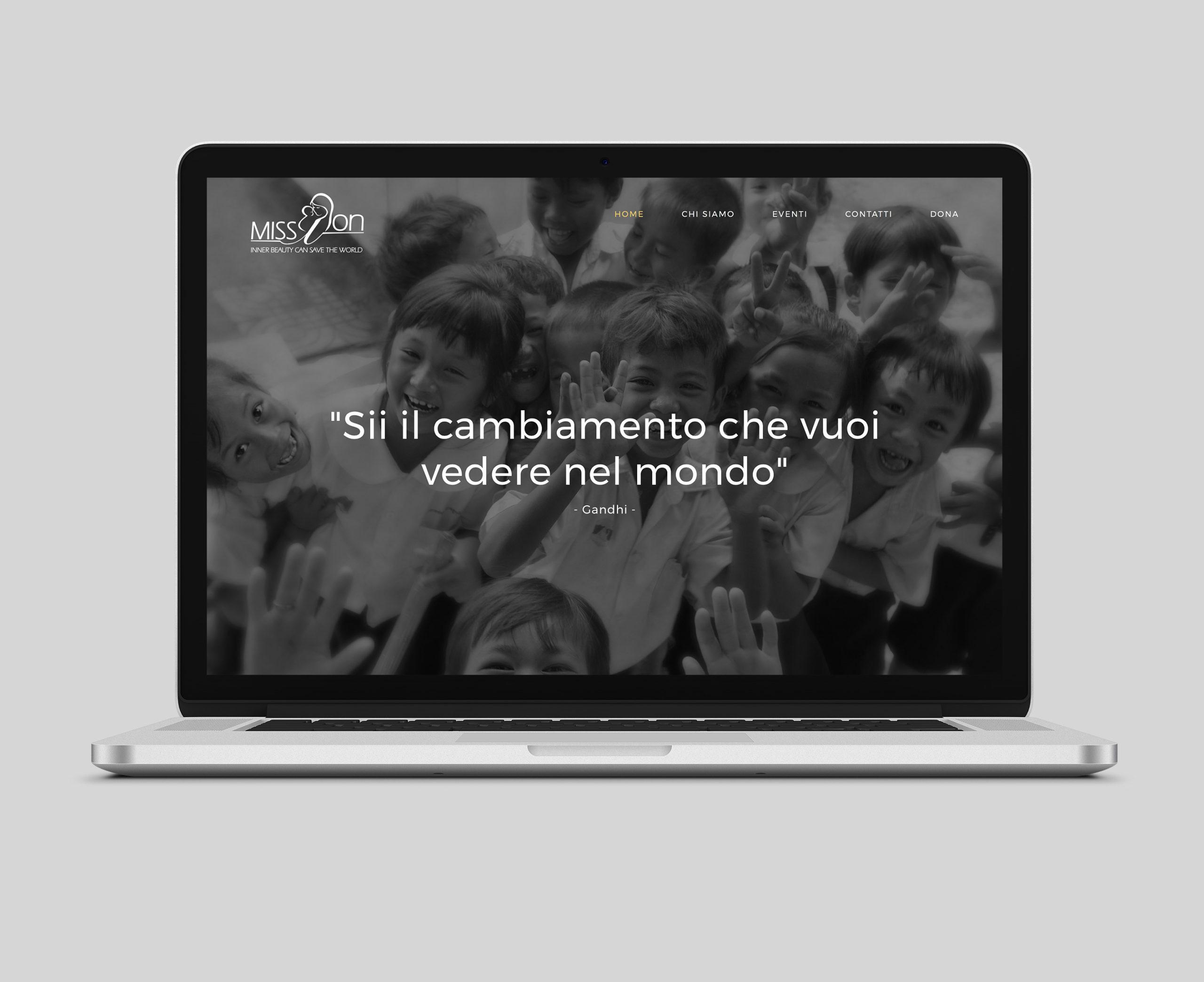 mission web site