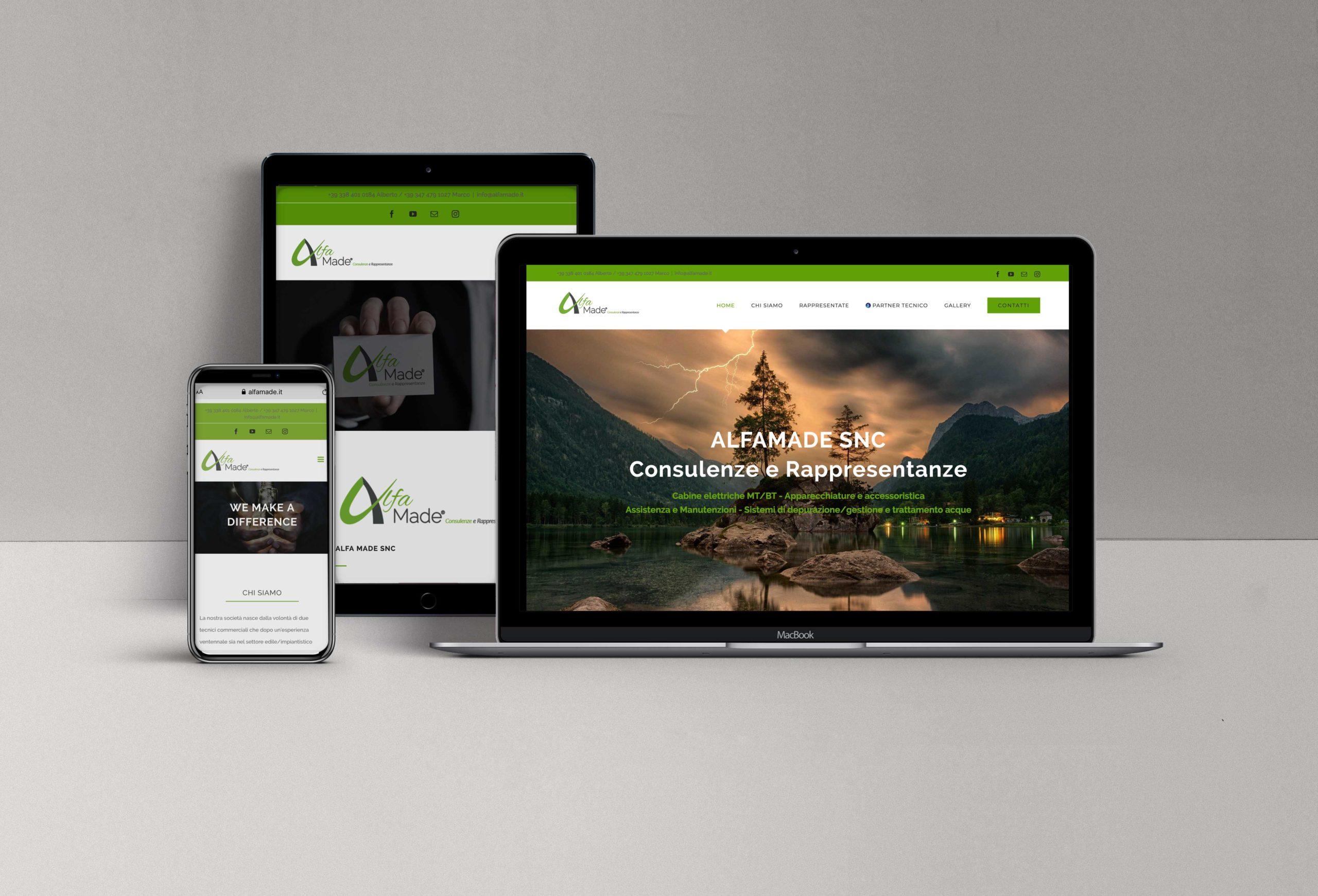 alfamade web site